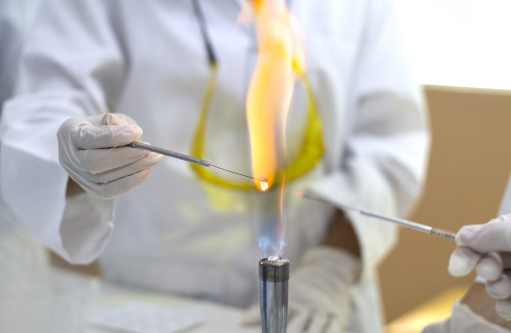 Chemistry Flame Test Interpetation
