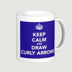 Curly Arrows mug copy