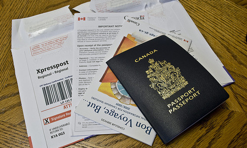 Passport image for year abroad