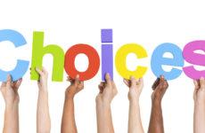Choose courses